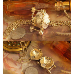 Princess Pumpkin Carriage Charm Locket Necklace - Bombshell Bettys Vintage