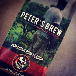 Peter's Gourmet Jamaican Rum Flavored Coffee
