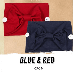 Stylish Side Button Headband (Set of 2)