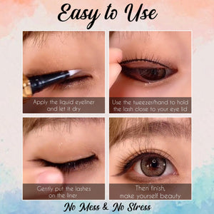 2-in-1 Perfect Glue Eyeliner