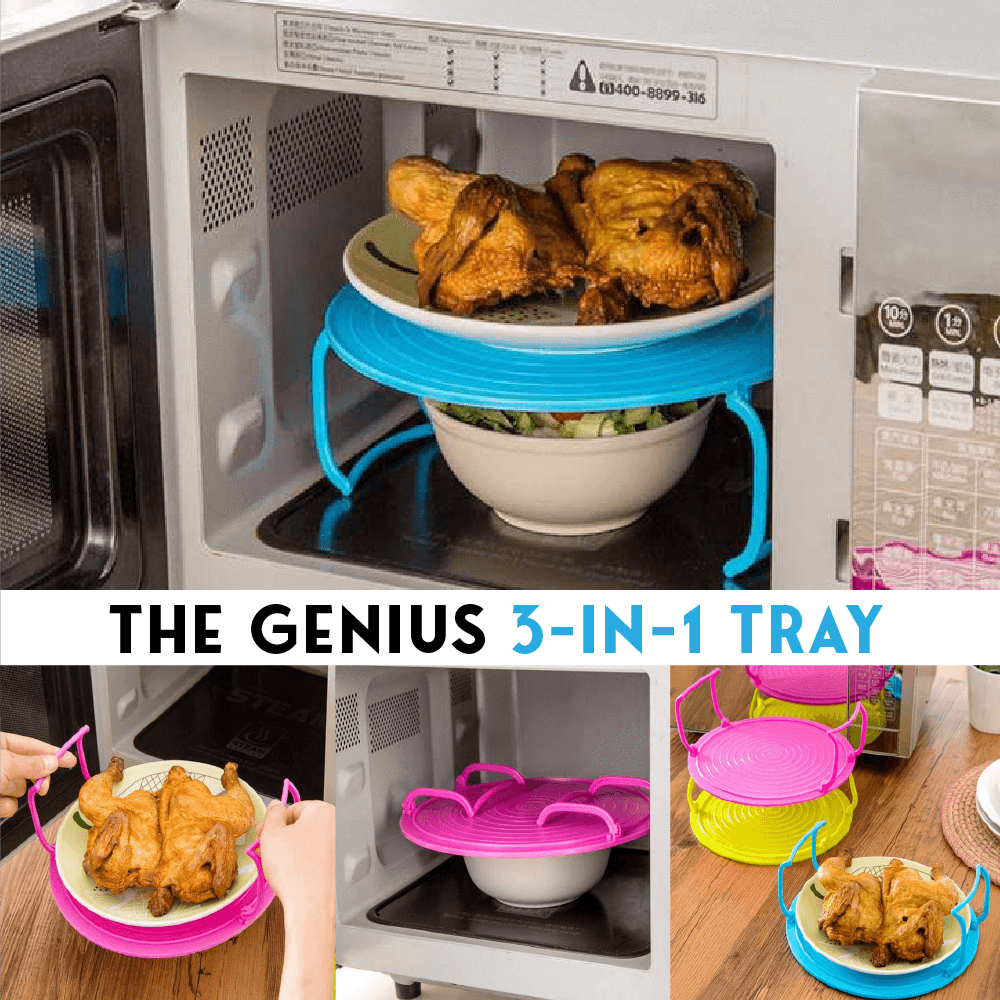 The Genius 3-In-1 Tray