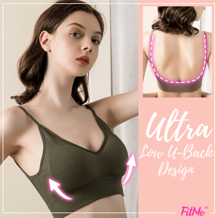 FitMe™ Low-U-Back Comfy Lifting Bra