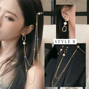 Sling Hairpin Earrings