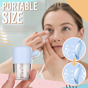 Portable Contact Lens Cleaner