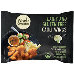 Buy Vegan Food Online | UK Delivery, Dairy Gluten Free Cauliflower Wings, Crispy Breaded bites, smoked paprika, cayenne pepper perfect as part of a meal or a tasty snack