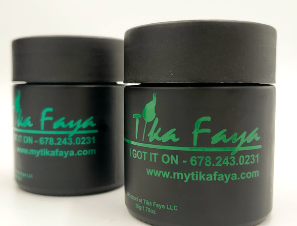 TIKA FAYA SMALL JAR FAT BURNING WORKOUT CREAM
