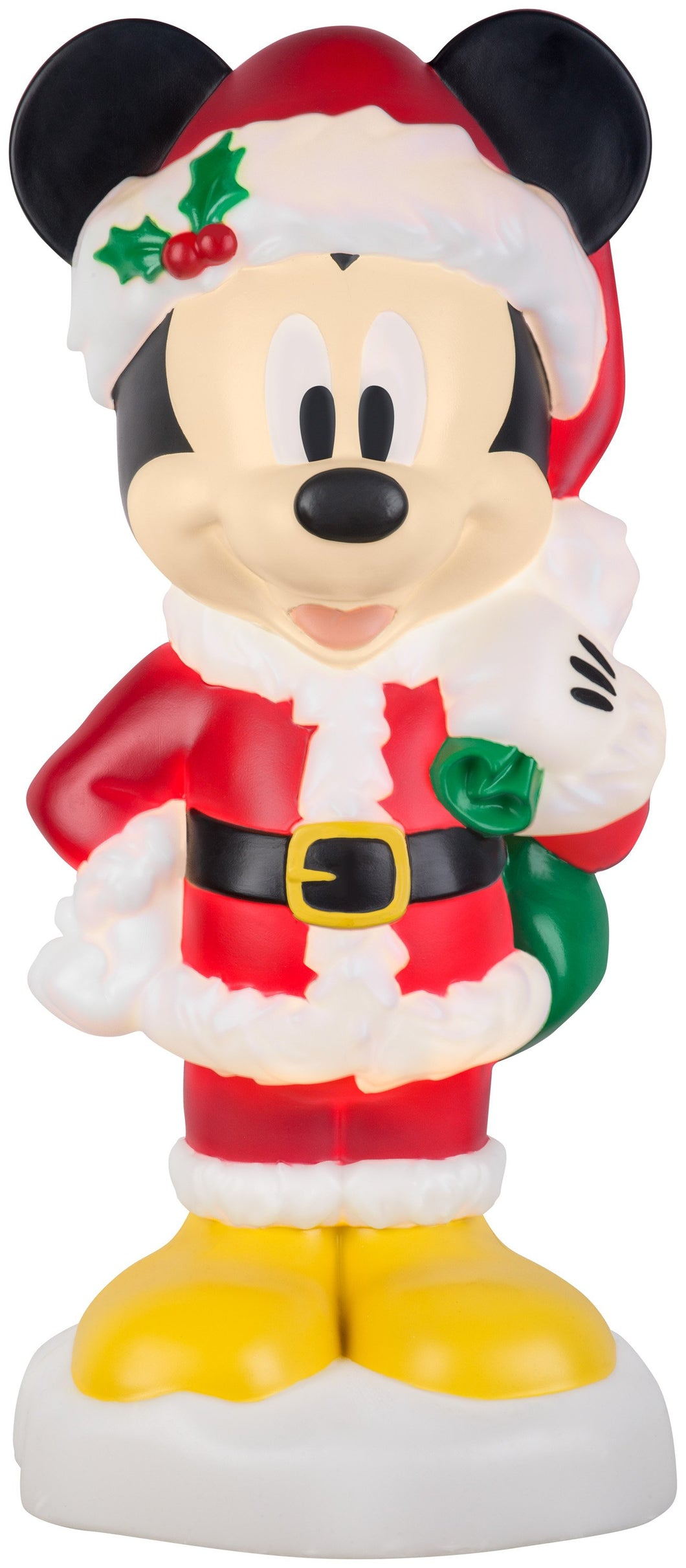 Lighted Blow Mold Outdoor Décor Mickey w/Gifts Disney