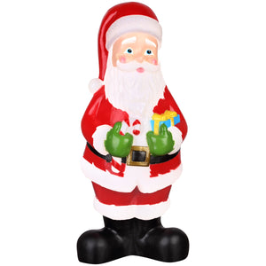 Lighted Blow Mold Outdoor Décor Vintage Santa