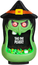 Load image into Gallery viewer, Gemmy Door Accessory Candy Bowl Whimsy Witch