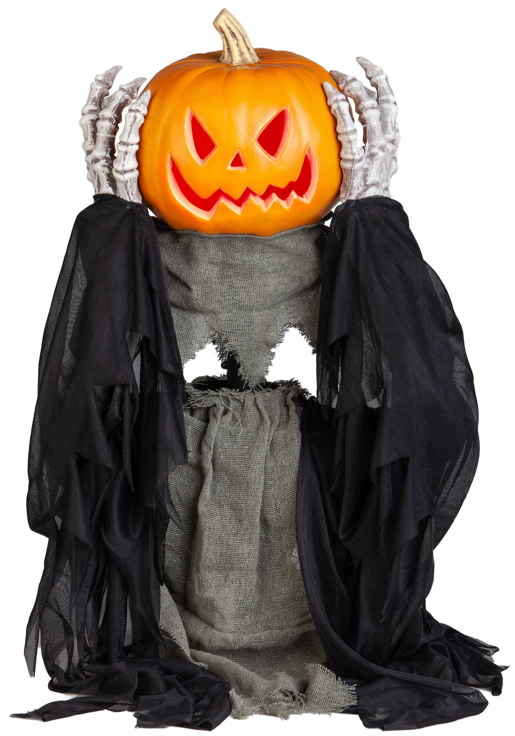Gemmy 2.5ft Animated Head Lifting Pumpkin Reaper