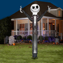 Load image into Gallery viewer, Gemmy 12' Animated Airblown Jiggler Jack Skellington w/Internal Spotlight-Disney