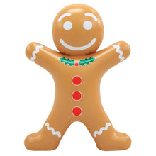 Load image into Gallery viewer, Blow-Up Inflatable Gingerbread Man
