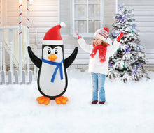 Load image into Gallery viewer, 3.5' Tall PVC Inflatable Penguin