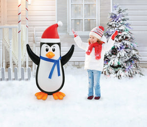 3.5' Tall PVC Inflatable Penguin