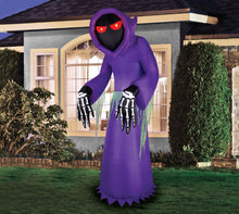 Load image into Gallery viewer, 7' Inflatable Faceless Reaper - Purple