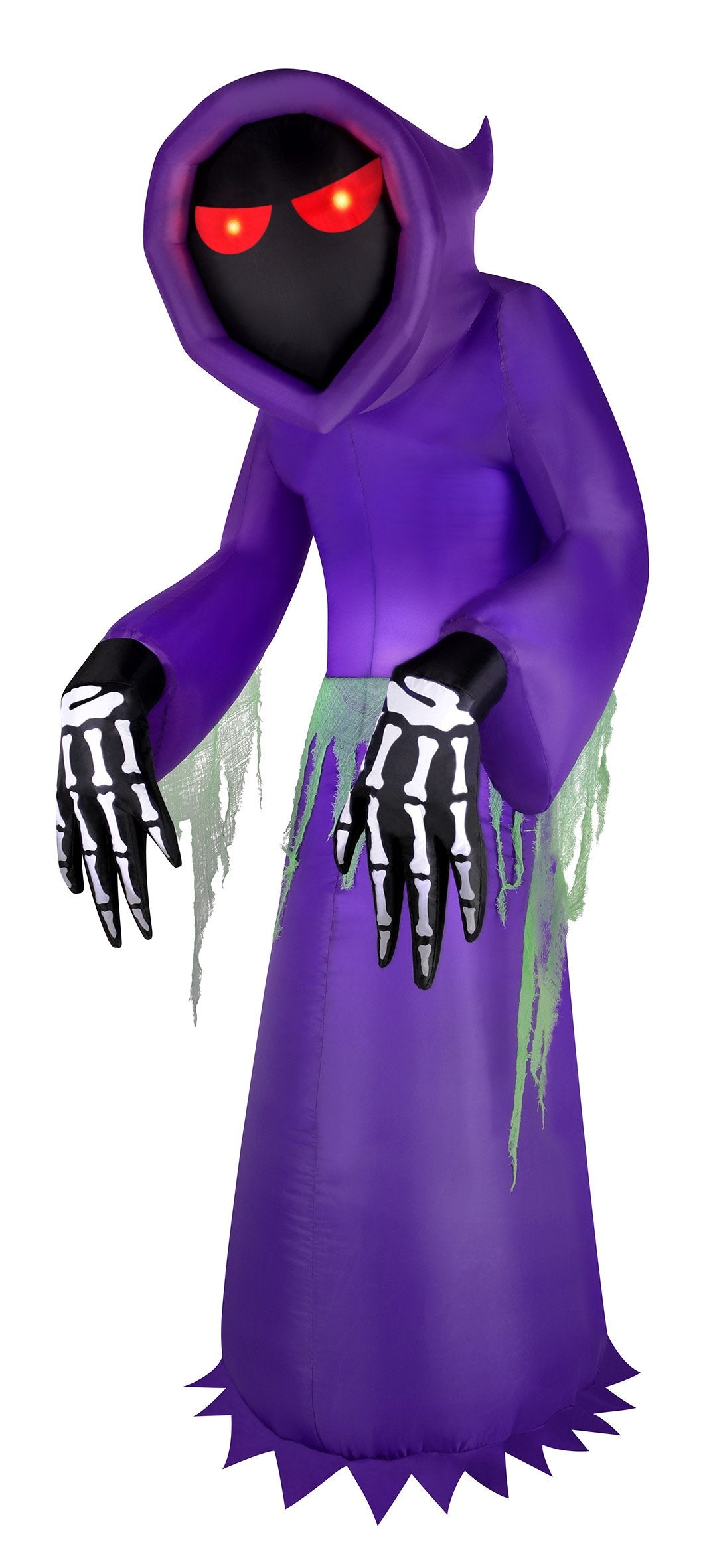 7' Inflatable Faceless Reaper - Purple