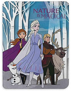 Frozen 2 Forest Walk Fleece Throw