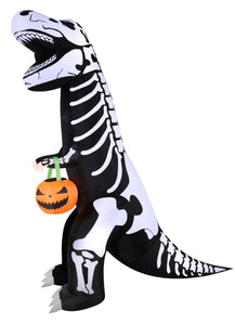 7' Airblown T-Rex Halloween Inflatable