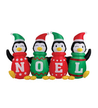 Load image into Gallery viewer, 6' Inflatable Sweater Penguins