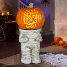 Load image into Gallery viewer, Gemmy Pumpkin Stand Mummy