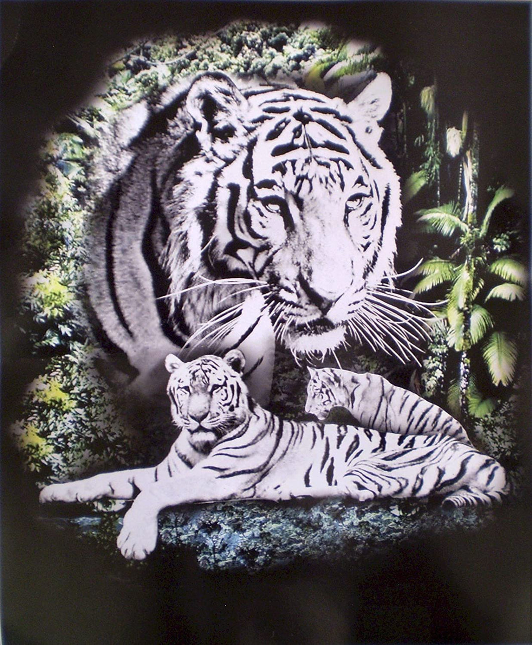White Tiger Blanket
