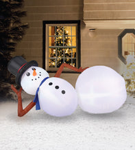 Load image into Gallery viewer, 6.5' Inflatable Snowman