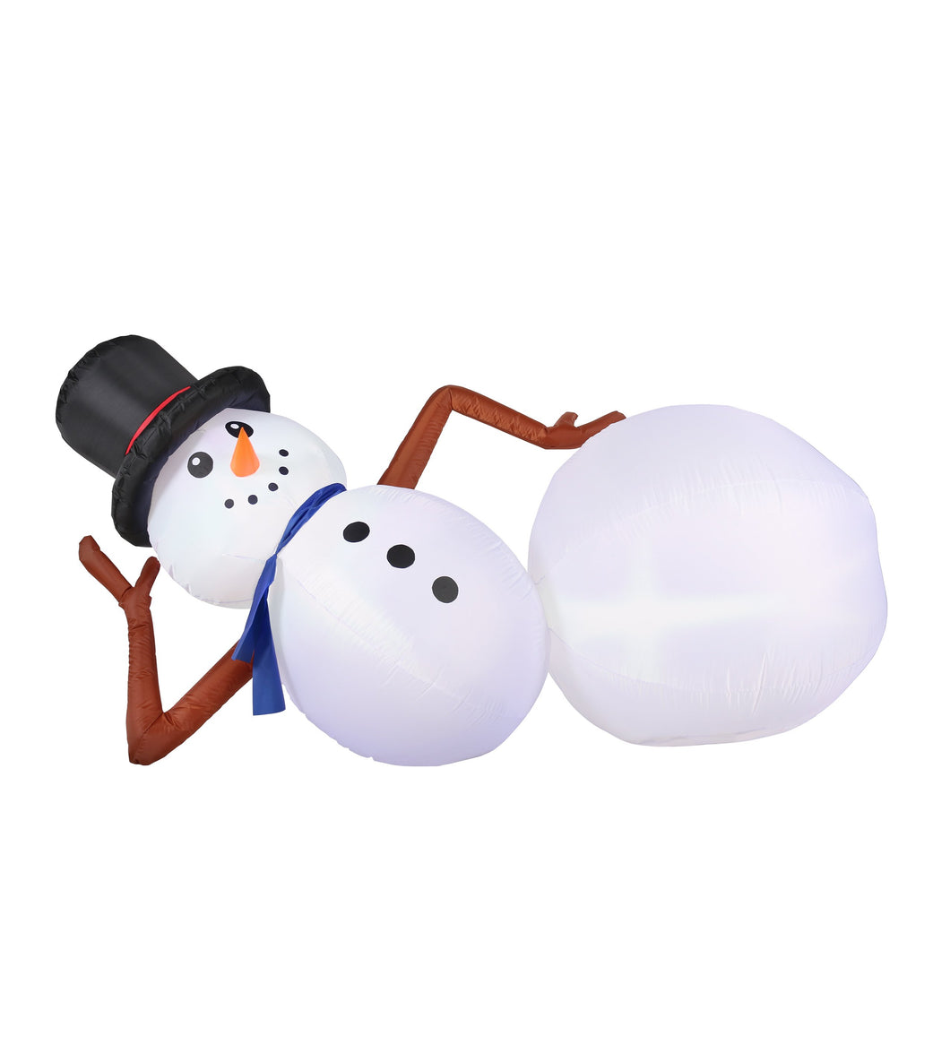 6.5' Inflatable Snowman