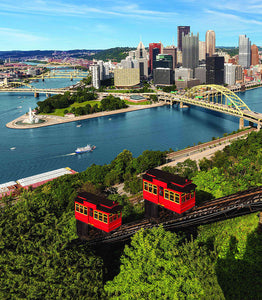 Pittsburgh City w/ Incline Blanket
