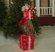 "Load image into Gallery viewer, 48"" UL Stacked Gift Box  Sculpture"