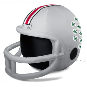 4' NCAA Ohio State Team Inflatable Football Helmet