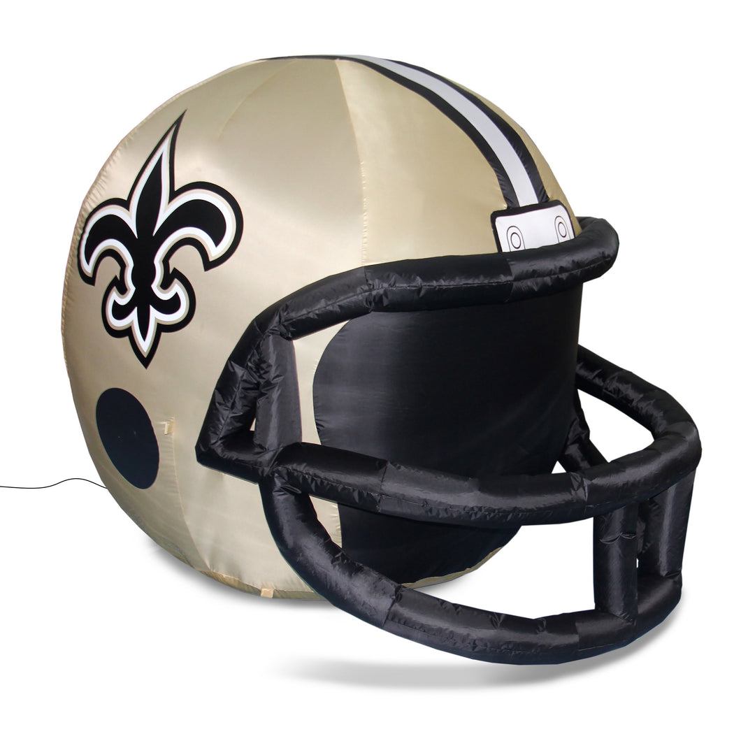 4' NFL New Orleans Saints Team Inflatable Football Helmet