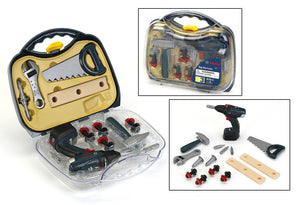 Bosch big DIY case with cordless drill