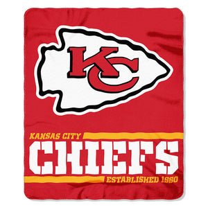 Chiefs Splitwide Fleece Throw