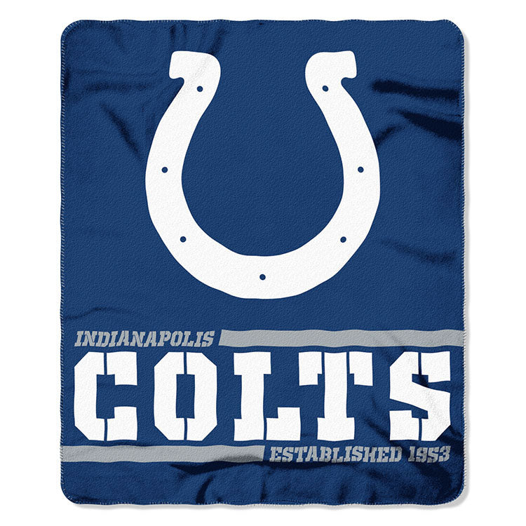 Colts Splitwide Fleece Throw