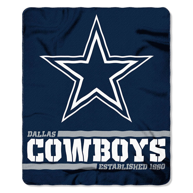 Cowboys Splitwide Fleece Throw