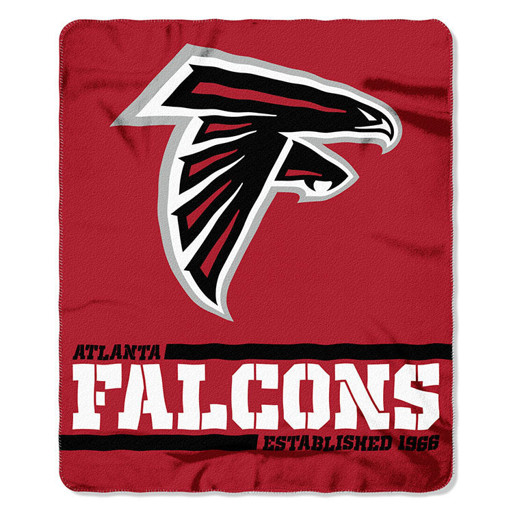 Falcons Splitwide Fleece Throw