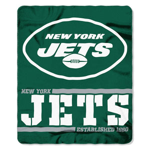 Jets Splitwide Fleece Throw