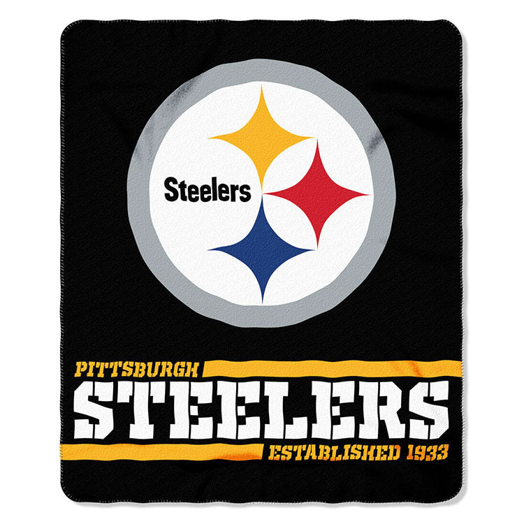 Steelers Splitwide Fleece Throw
