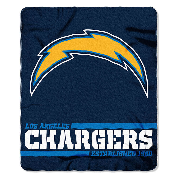 Chargers Splitwide Fleece Throw