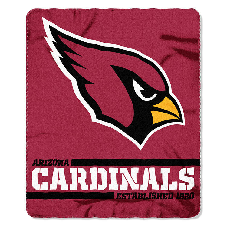 Cardinals Splitwide Fleece Throw