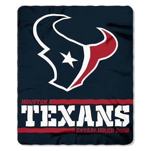 Texans Splitwide Fleece Throw