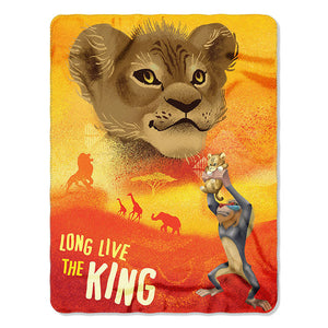 Lion King - Future King Rolled Fleece