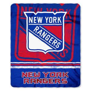New York Rangers Fleece Blanket