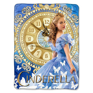 CINDERELLA CLOCK STRIKES Blanket