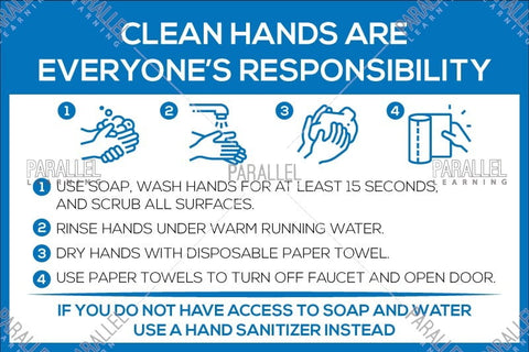 Clean Hands are everyone's responsibility