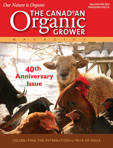 40th Anniversary Edition of The Canadian Organic Grower