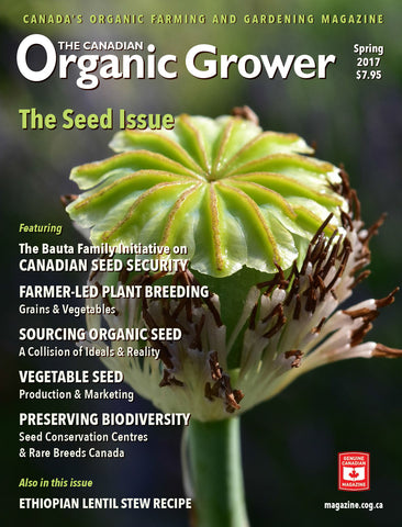 The Canadian Organic Grower Magazine - SPRING 2017 - Hardcopy