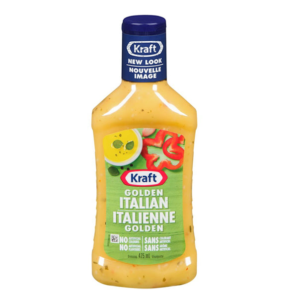 Kraft Golden Italian Dressing 475ml
