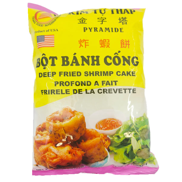 KTT Bot Banh Cong-Deep Fried Shrimp Cake 12oz