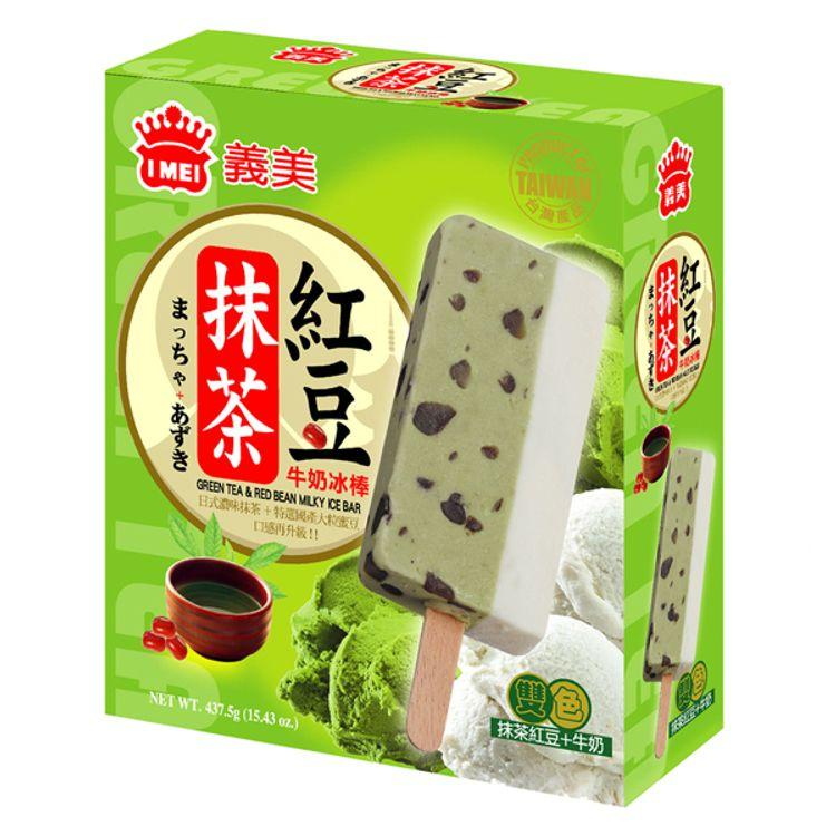 I-MEI Green Tea Red Bean Milk Ice Bar 87.5g*5